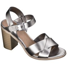 Women's Mossimo® Lynde Block Heel Sandals - Assorted Colors available at Target