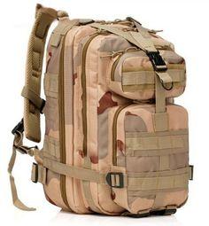 ERolldeeP Sport Outdoor Comfortable Waterproof Assault Pack Military Rucksacks Tactical Molle Backpack Hiking Backpack Hiking Daypack Camping Hiking Trekking Climbing Bag 25L30L for boys kids -- Visit the image link more details.