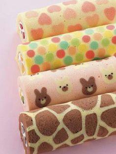 cute Japanese Roll Cake