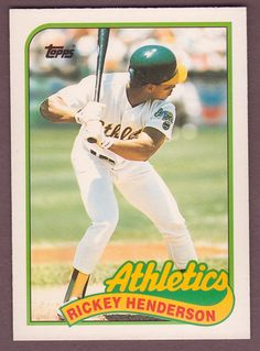 1989 Topps Traded #48T RICKEY HENDERSON