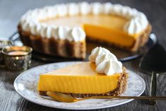 Mango-pai Mango, Cheesecake, Food And Drink, Baking, Desserts, Recipes, Scandinavian, Pai, Sweets
