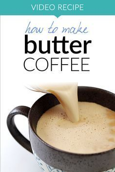 Easy and delicious! Butter coffee (or Bulletproof coffee) is a favorite among keto, low carb and paleo lovers. It combines with creaminess of butter and benefits of coconut oil into one energizing, smooth drink. Learn how easy it to make it with our quick video recipe!