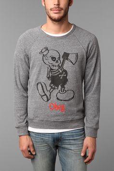 OBEY Oh Boy Sweatshirt Crew Sweatshirt #UrbanOutfitters
