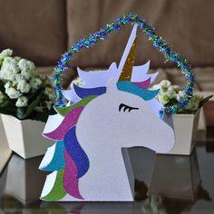 Unicorn Gift Bag designed by @Bird's SVGs