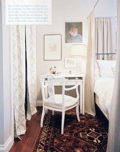 Small bedroom- desk/ nightstand