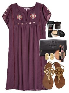 A fashion look from February 2016 featuring Calypso St. Barth dresses, Tory Burch pumps and Tory Burch clutches. Browse and shop related looks. Spring Summer Fashion, Spring Outfits, Cute Dresses, Casual Dresses, Cute Fashion, Womens Fashion, Style Fashion, Fashion Tips, Outfits