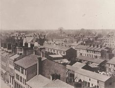 From top of Rossin House Hotel looking northwest   1856