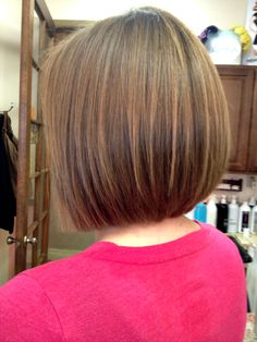 Examples of Hair done by Marilo Butron of Salon Lola, Gilbert AZ. Includes some before and afters and images of the salon. Bob Haircut For Fine Hair, Bob Hairstyles For Fine Hair, Medium Bob Hairstyles, Bob Haircuts, Medium Hair Cuts, Short Hair Cuts, Medium Hair Styles, Long Hair Styles, Bobs For Thin Hair