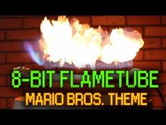 Mario Bros. Theme - Ruben's Tube 8-Bit.  Using this for teaching sound waves!