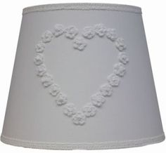 Hanglamp wit linnen hart