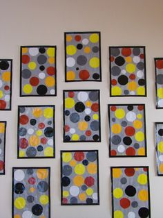 Collage de ronds, inspiré de Sonia Delaunay. Sonia Delaunay, Preschool Art, Craft Activities For Kids, Creation Art, Yayoi Kusama, Process Art, Art Graphique, Kandinsky, Art Plastique