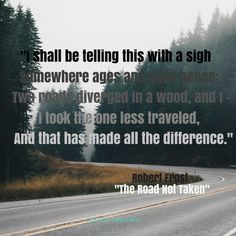 "Robert Frost's most famous poem, ""The Road Not Taken"", was first published today in Atlantic Monthly in 1915."
