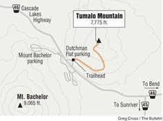 Hiking Tumalo Mountain; Short but steep hike pays off in views