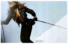 Morning Beauty | Iselin Steiro by Mikael Jansson Sport Editorial, Never Summer, Ski Bunnies, Bunny, Ski Girl, Templer, Ski Season, Ski Fashion, Glamour