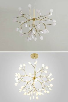 "This chendelier has several ""white leaves/lenses"", which looks like a bifurcated branch with aesthetic and technical shapes. Simple Chandelier, Chandelier In Living Room, Living Room Lighting, Chandelier Pendant Lights, Contemporary Pendant Lights, Modern Pendant Light, Lustre Simple, Room Lights, Ceiling Lights"