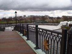 A bridge over one of the ponds of Tsaritsyno Park and Estate. By Moscow Russia Insider's Guide.