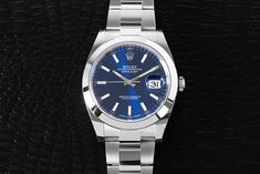 The Rolex Datejust II (Ref. 116300) comes with a domed bezel, a sturdy Oyster bracelet, and a variety of simple yet beautiful dials. Go see for yourself! Rolex Datejust Ii, Buy Rolex, Rolex Models, Luxury Watch Brands, Rolex Watches, Bracelet, Simple, Stuff To Buy, Accessories