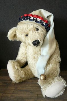 JELLY BAG CAP for collectible teddies & dolls #forteddyanddolljimdocom Jelly Bag, Teddy Bear, Cap, Dolls, Animals, Collection, Baseball Hat, Baby Dolls, Animales