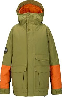 Burton Atlas Snowboard Jacket Kids Sz M ** Check out this great product.(This is an Amazon affiliate link and I receive a commission for the sales)