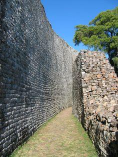 Great Zimbabwe ruins.