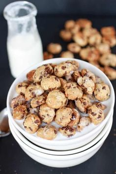 Oatmeal Chocolate Chip Cookie Cereal - Half Baked Harvest