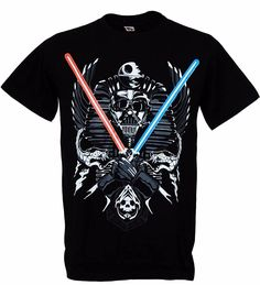 men fashion summer New T shirt men brand clothing fashion simple Darth Vader Twin Light Saber Funny Star Wars male t-shirt cotton soft print *** This is an AliExpress affiliate pin.  Find similar products on AliExpress website by clicking the VISIT button