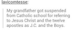 Let's be real, Jesus would love that