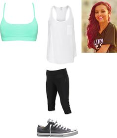 """Little Mix Dance Practice"" by yourrandomanon123 ❤ liked on Polyvore"