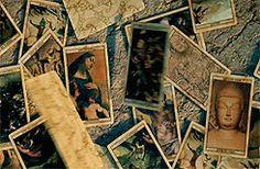 Animated GIF: Tarot Cards † #gif #animatedgif #cartomancy #divination #Tarot #TarotCards