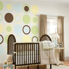 Rosenberry Rooms is offering a 10% discount on your purchase of $350 or more.  Share the news and take advantage of the savings! Baby Blue Baby Dot Wall Decals #rosenberryrooms
