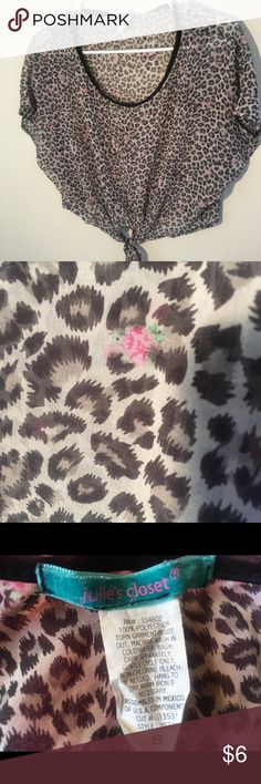 See-through  black gray pink flowers New & Other Stories Tops
