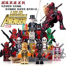 AVG Custom Brand Super Heroes Minifigure - CHOOSE ONE G Man, Deadpool, Superhero, Halloween, Art, Art Background, Kunst, Performing Arts, Spooky Halloween