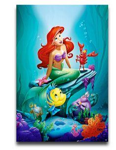 20x30inch-Wall-Sticker-font-b-Poster-b-font-Home-decoration-The-Little-font-b-Mermaid-b.jpg (313×405)
