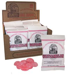 Old Time Candy Names | OLD FASHIONED HARD CANDY BAG-WATERMELON « redstonefoods.com