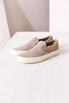 Vans Knit Suede Classic Slip-On Sneaker