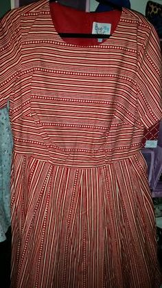 NWOT (did not come with tags) Mod-Cloth red/white dress from Bea and Dot (house brand) Size 1XL Best for  bust 42-45 waist 34-36 hips to 45-47  smoke free pet friendly home $55 shipped