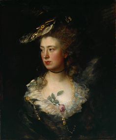 "Thomas Gainsborough (1727‑1788)  ""The Artist's Daughter Mary,"" 1777"