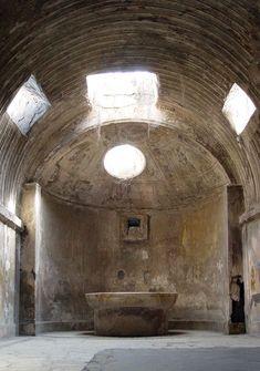 Suburban Baths at Pompeii, Naples, Italy. photography by WETLAND2 (flickr). Jon W Benedict (@jonwbenedict) on Instagram