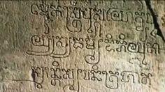 khmer alphabet 1000 years ago