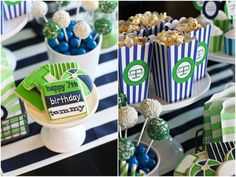 The TomKat Studio: Preppy Pool Party :: Celebrating Tommy's Birthday Happy 7th Birthday, 13th Birthday Parties, Luau Party, Diy Party, Party Ideas, Gift Ideas, Pop Corn Box, Party Food Supplies, Water Party