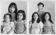 Reenactments of childhood photos. BACK TO THE FUTURE: Irina Werning - Photographer