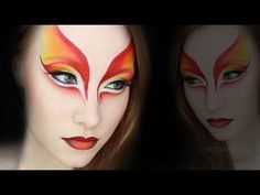 Cirque Du Soleil Makeup Tutorial - YouTube