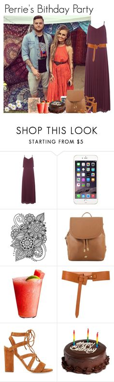 """""""Perrie's birthday party"""" by mllestylesusa ❤ liked on Polyvore featuring Issa, Darice, Brahmin, Disney, rag & bone and We Take the Cake"""