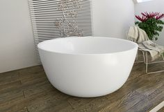 The PureScape 720 is a minimalist, freestanding, bowl-shaped tub, which has been hand crafted in Italy by our vanguard European designers.