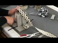 DIY Bow Making Tutorial using both the Pro-Bow and Bowdabra. Video shows both te… DIY Bow Making Tutorial using both the Pro-Bow and Bowdabra. Diy Ribbon, Ribbon Bows, Wreath Bows, Mesh Wreaths, Ribbons, Burlap Bows, Bow Making Tutorials, Making Bows, Wreath Making