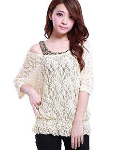 Allegra K Women Scoop Neck Mid Sleeve Sheer Shirt w Leopard Print Tank Top Allegra K http://www.amazon.com/dp/B00E6RFIRI/ref=cm_sw_r_pi_dp_Qb-4tb0B0Z7M8