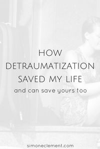 Detraumatization saved me from suicidal thoughts. You might be a survivor of abuse and trauma too. CLICK HERE TO LEARN ABOUT TRAUMA AND ABUSE https://simoneclement.com/blog/trauma-emotional-abuse-anxiety-ptsd Overcome your emotional abuse, physical abuse,