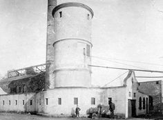 Mijnschacht nulland  rond 1907