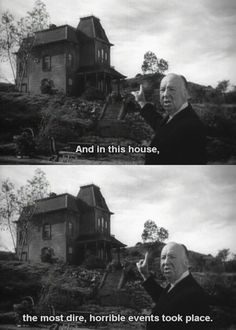 in this house.