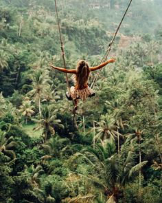 Without a net || BALI SWING! travel enjoy adventure explore jungle go there find new heights
